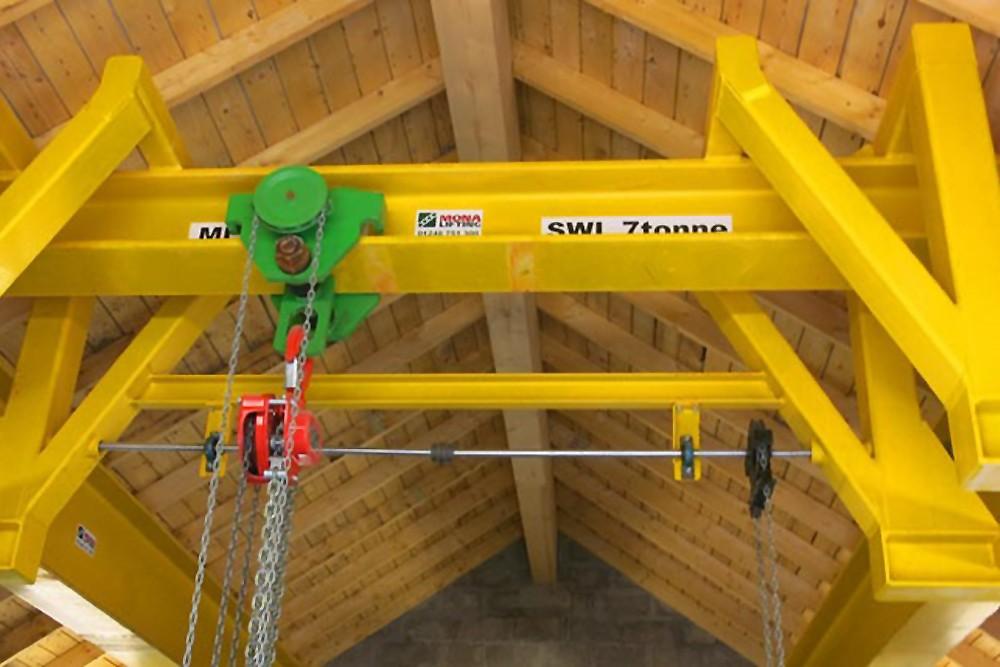 Dulas Ltd, Balnacarn Powerhouse Crane