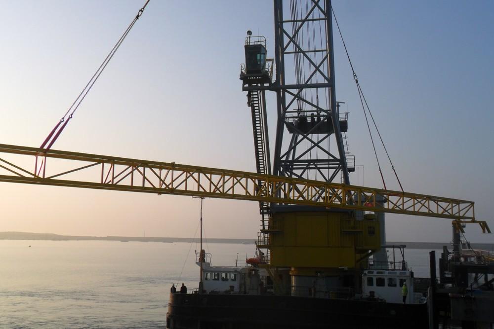 Stena Line Ltd, Re-Fuelling Jetty Pipe Bridge