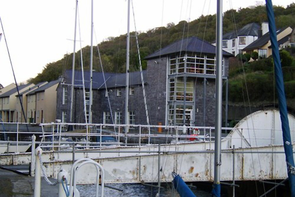 North Wales Dock Company, Bascule Bridge, Felinheli Dock