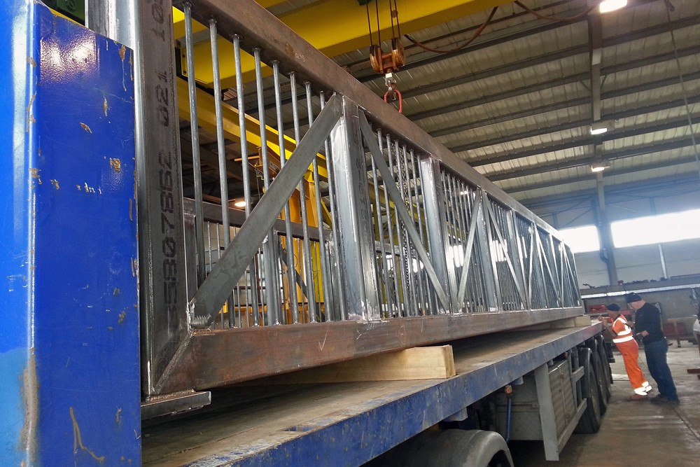 Chesterfield Canal Trust, 12m Steel Footbridge