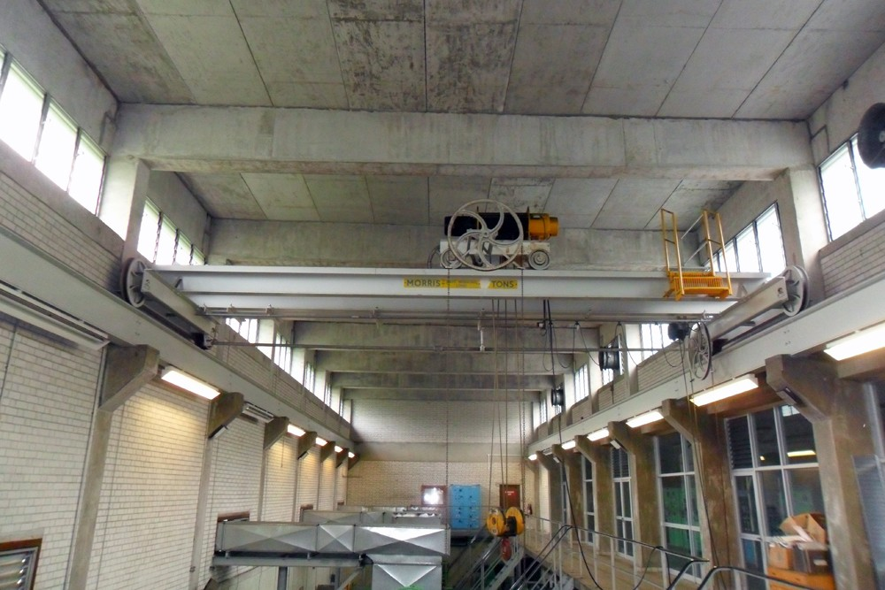 Crane Replacement for DCCWW Lliw Valley Pumping Station